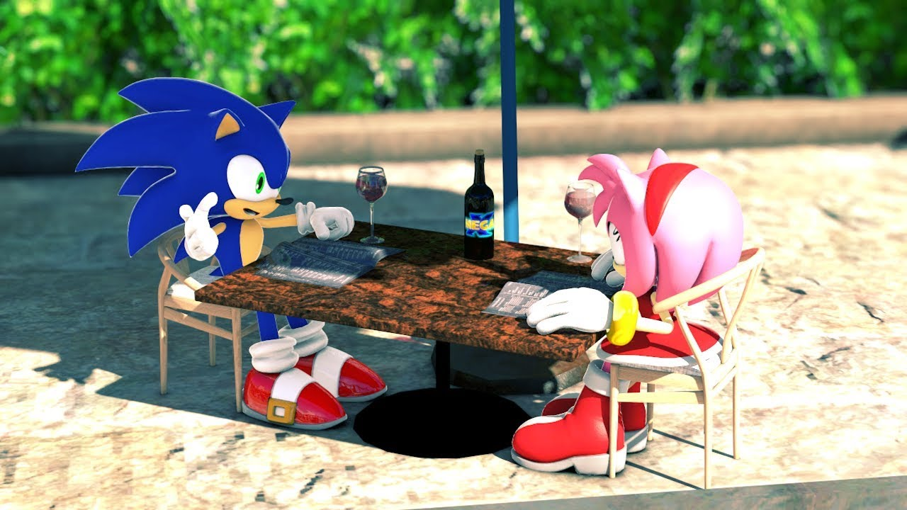 Amy Off Of Sonic sonic finally takes amy out! | valentine's day special
