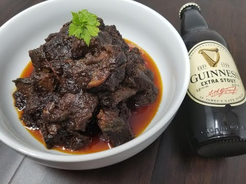Guinness Lamb Stew- Slowcooker Recipe - Episode 636