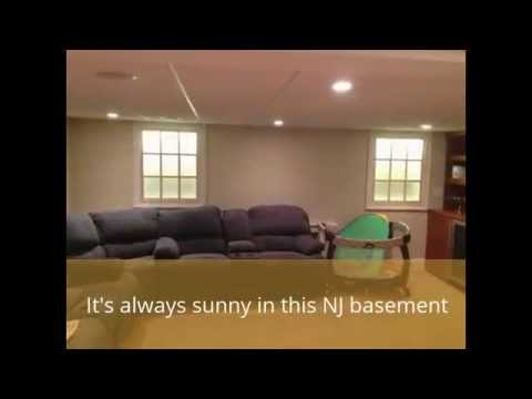 Bright basement with faux windows by monk 39 s home Fake window for basement