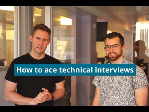 How To Ace Your Technical Interviews