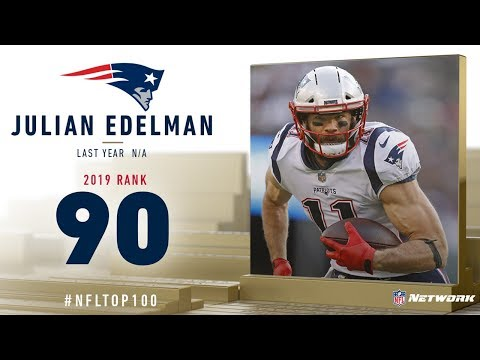 #90: Julian Edelman (WR, Patriots) | Top 100 Players of 2019 | NFL