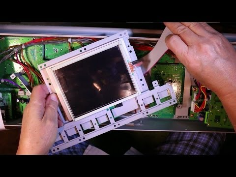How to Fix Korg M3 Display - Change Touch Panel - PART 1