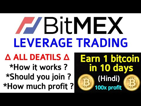 BitMEX leverage trading for beginners in hindi (100x power) ⚡🔥