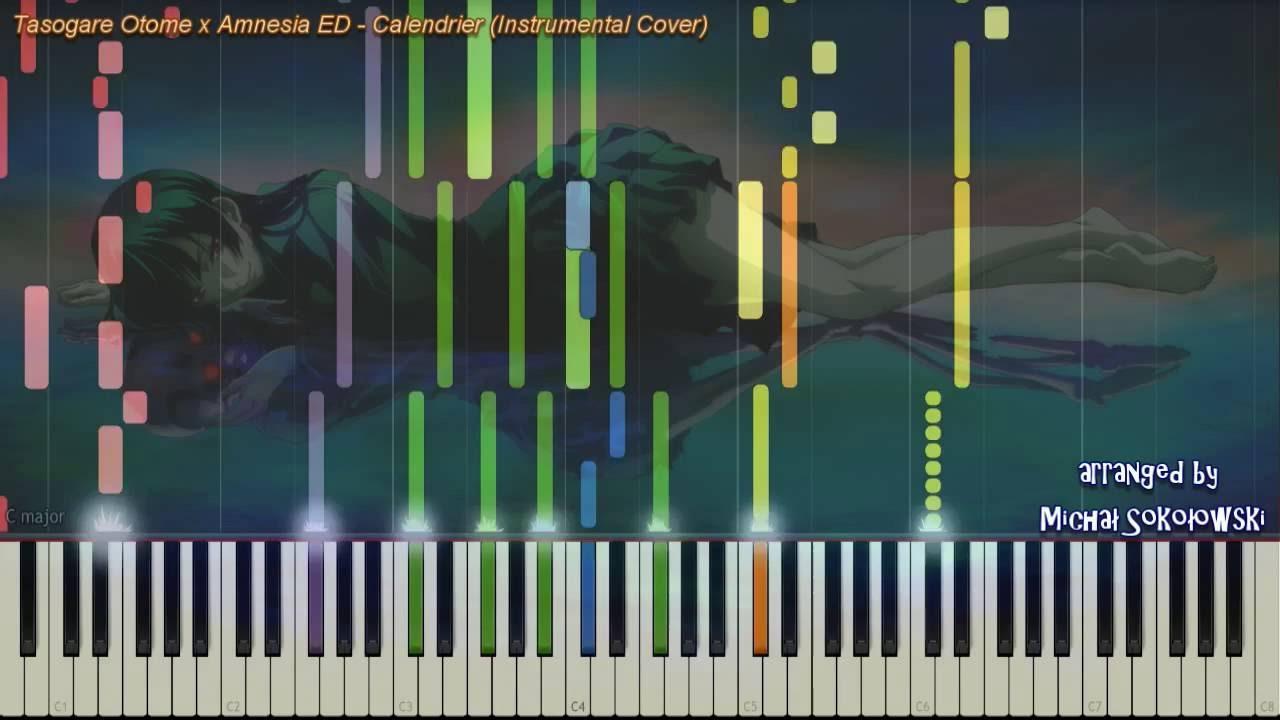 Skyrim Calendrier.Dusk Maiden Of Amnesia Ed Calendrier Instrumental Cover