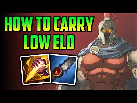 How To Carry Low Elo Easy and Simple Pantheon Jungle - League of Legends