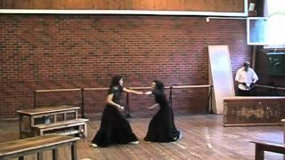 Сценическое фехтование (курс В.А.Андреева) 02.06.2011