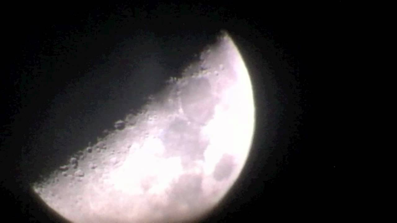 Moon at mag celestron travel scope youtube