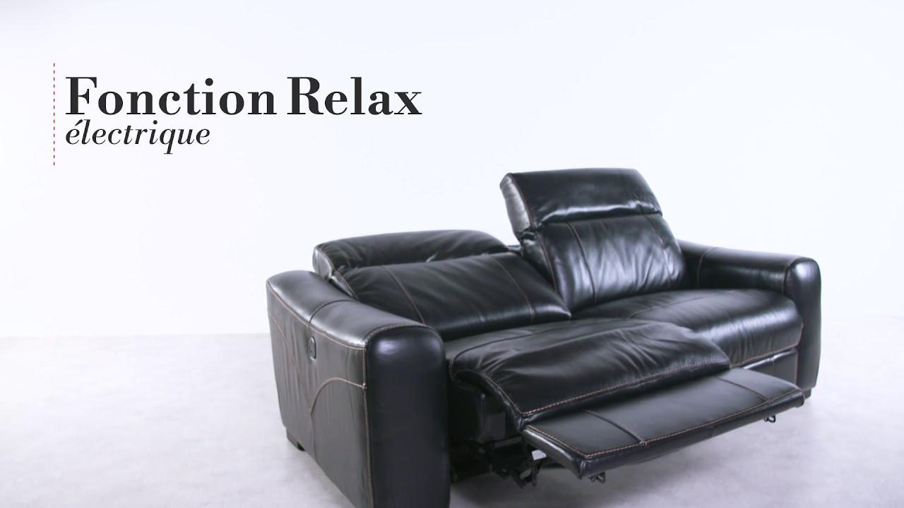 Canapé Relax électrique Tivoli But
