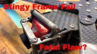 Xhover Stingy Frame Fatal flaw