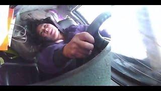 Tổng hợp hình ảnh bên trong xe khi xảy ra tai nạn giao thông