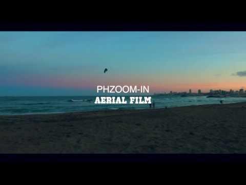 Drone KiteSurf, Beach, Sunset in Mar Del Plata - Argentina