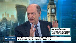 Corrado Passera Says Specialized Banks Are the Future