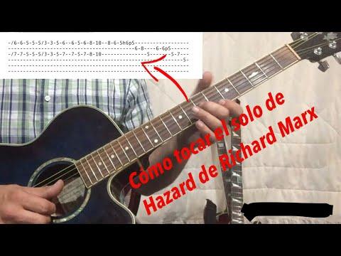 """Cómo Tocar El Solo De """"Hazard"""" (Richard Marx)"""