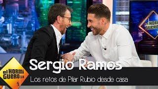 La exclusiva de Pablo Motos sobre Sergio Ramos en 'El Hormiguero 3.0' - El Hormiguero 3.0