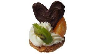 Рецепты пирожных - Домашние пирожные с кремом и фруктами