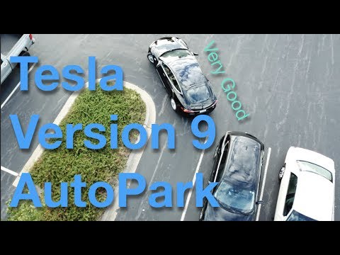 Tesla AutoPark Version 9