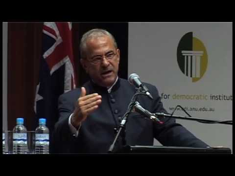 Dr José Ramos-Horta - Democracy in Timor-Leste: Challenges and Prospects at ANU