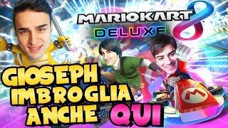 GIOSEPH IMBROGLIA ANCHE QUI! w/Blaziken68 e GiosephTheGamer - Mario Kart 8 Deluxe Ita
