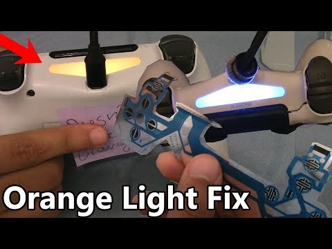 How to Fix PS4 Controller with an Orange Light that Turns On Then Off (Conductive Film Solution)