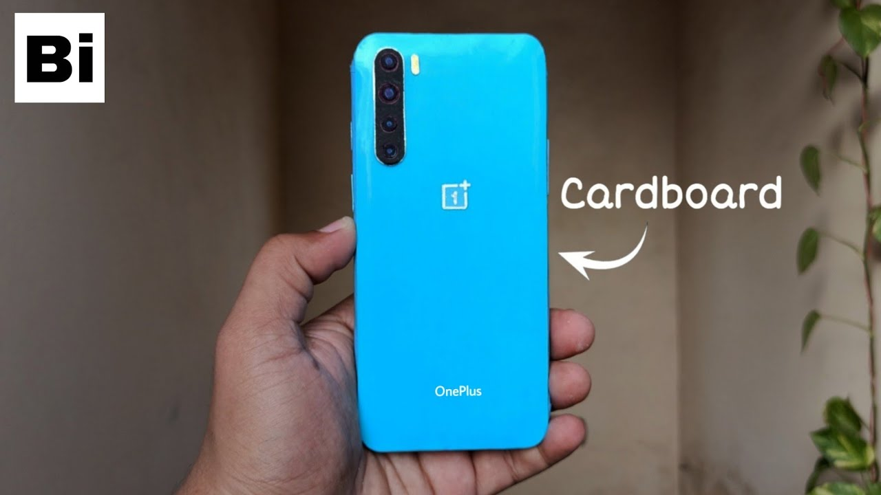 OnePlus Nord How To Make From Cardboard