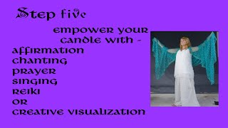 Lady Sharona Candle Spell Class-Episode 4-Srep 5 -Empowering