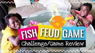 Fish Feud Challenge and Game Review!