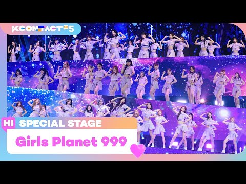 [KCON TACT HI 5] Girls Planet 999 (걸스플래닛 999) 54인 - Intro + O.O.OㅣSpecial Stage | Mnet 211021 방송