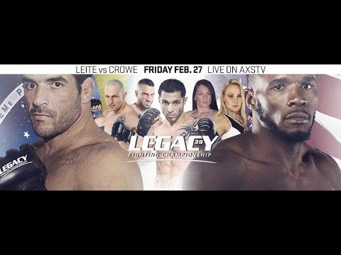 Legacy 39 Prelims: Daniel Turner vs. Jordan Carmona