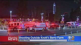 1 Injured In Drive-By Shooting Outside Knott's Berry Farm