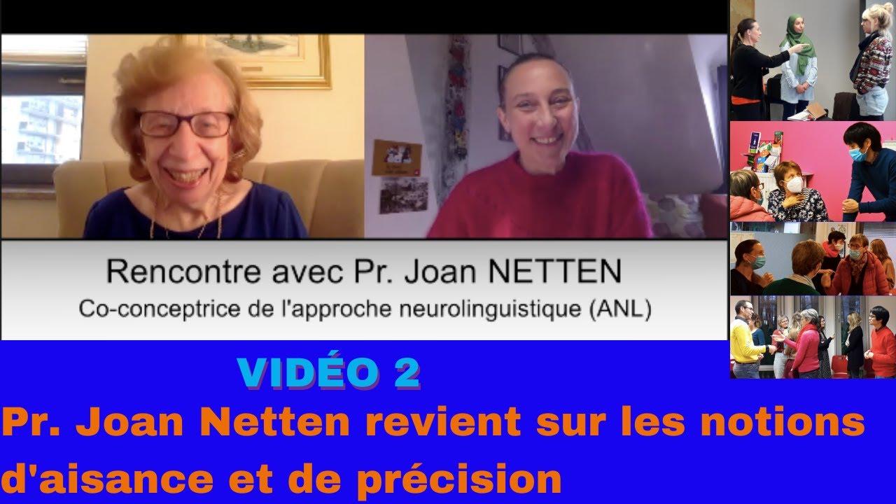Download 2e entretien avec Joan Netten sur les notions d'aisance et de précision en langue seconde/étrangère