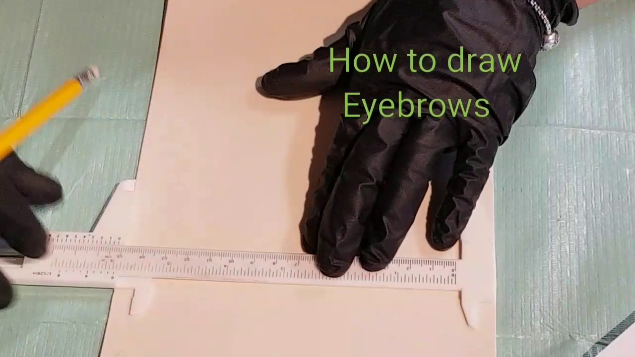 how to draw eyebrows youtube
