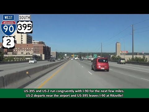 2K14 (EP 34) Interstate 90 in Spokane, Washington