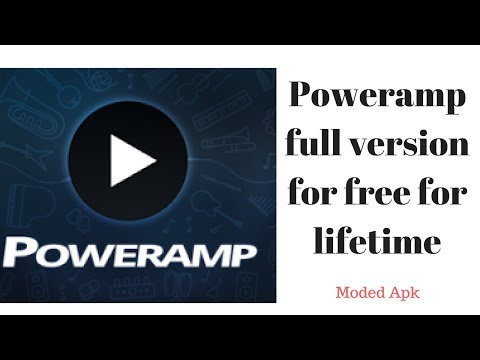 How to use Poweramp full version for free for lifetime (Mod Version