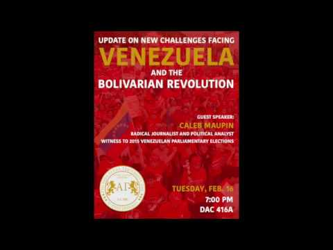Caleb Maupin   subtitles Understanding Bolivarianism & The Crisis in