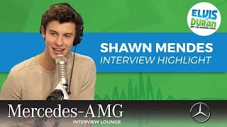 Shawn Mendes Almost Starred in 'Love Simon' | Elvis Duran Interview Hightlight