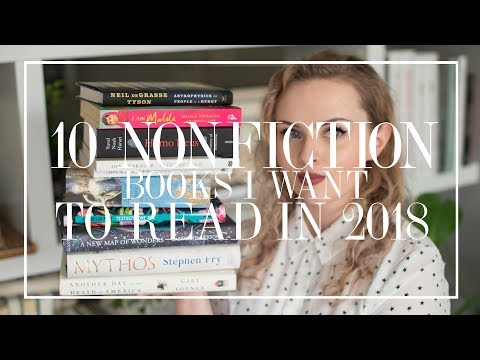 10 Nonfiction Books I Want To Read In 2018 | The Book Castle