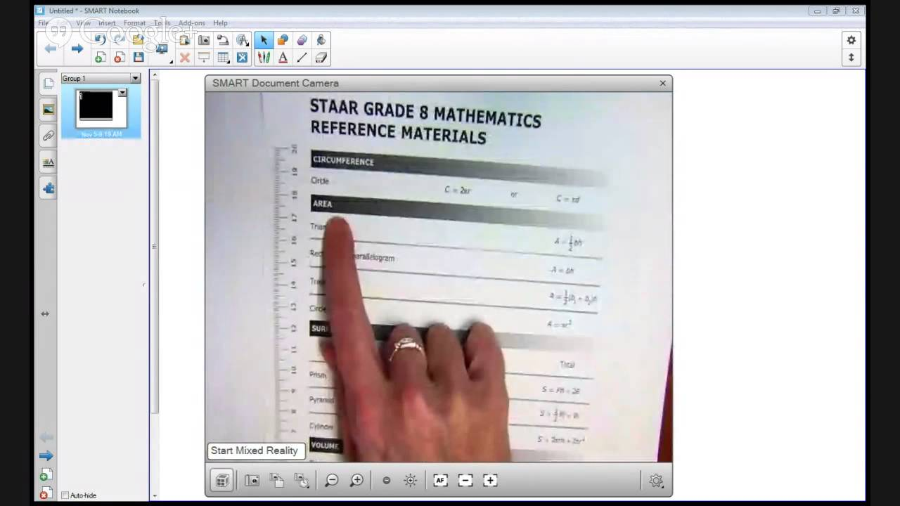 STAAR 2013 - 8th Grade Math Item Analysis - #41 - YouTube