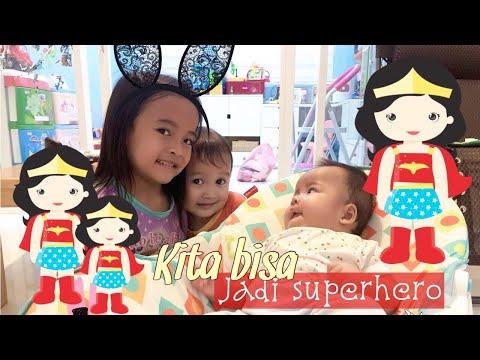 SUPERHERO ZAMAN NOW #2 | Pahlawan Anak | Zara Cute Rajin Bantu Mama