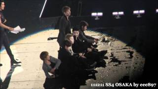 Fancam 111211 Super Show 4 In Osaka Miracle