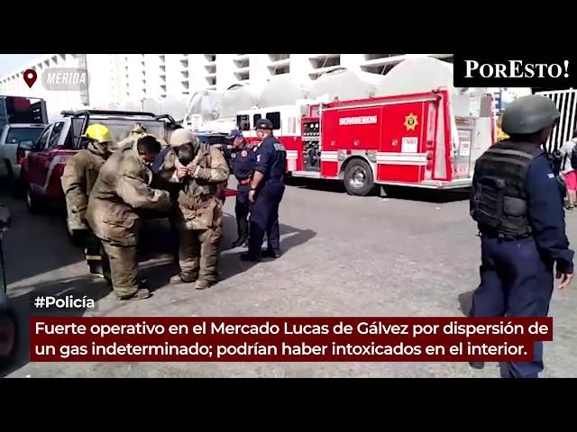 Fuerte operativo por un gas tóxico en el Lucas de Gálvez