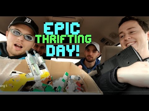 EPIC Thrifting Day! Video Games, Star Wars Legos, Vintage Electronics & More!