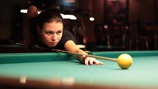Супер женский финал по бильярду 2015. Максимова - Миронова