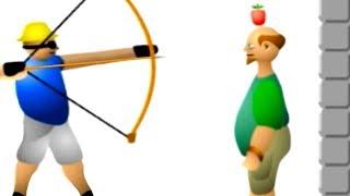 【実況】頭を矢で打ち抜く的当てゲームが恐ろしい