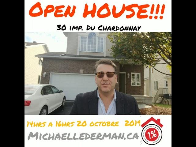 Open house 30 imp chardonnay Aylmer qc October 20, 2019