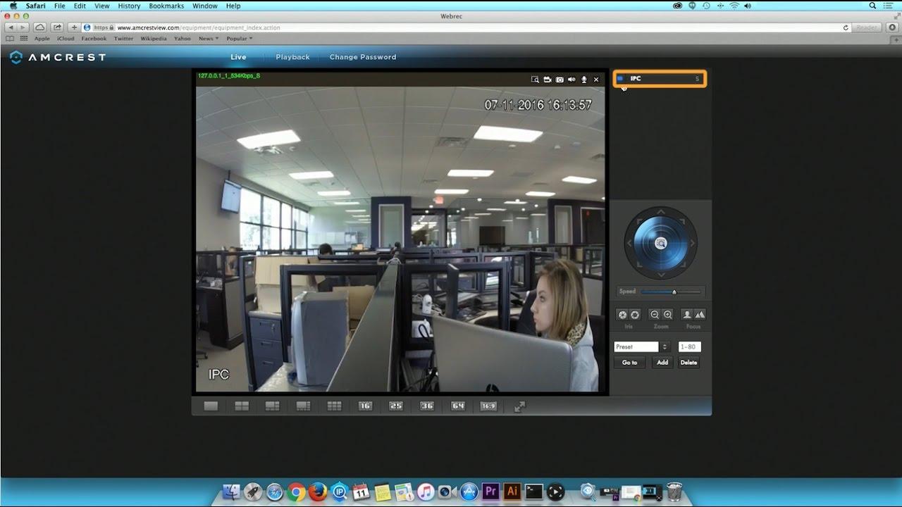 Amcrest View & Amcrest Cloud Key Features