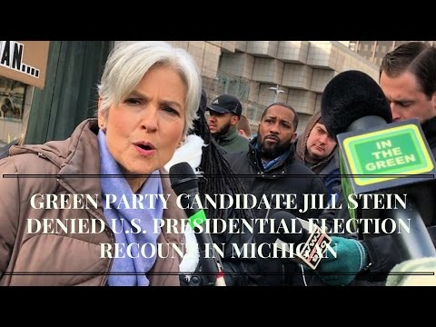 Michigan Presidential Election Recount 🔥 HOT MESS