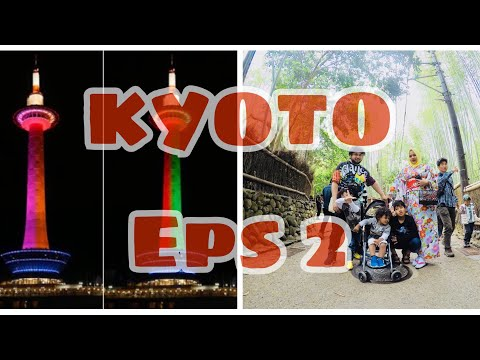 KYOTO Eps.2 || Travel Vlog || kehidupan di Jepang || VLOG # 21 || JAPAN
