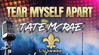 Tate McRae - tear myself apart (Karaoke Version)
