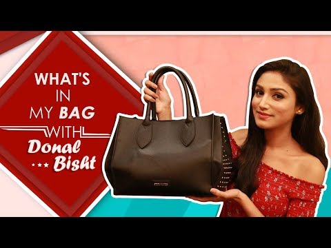 What's In My Bag With Donal Bisht | Exclusive Interview