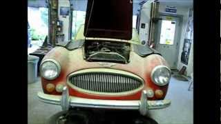 1966 Austin-Healey 3000 MKIII Before and After
